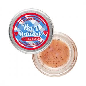 Etude House Berry Deliciou Strawberry Lip Jam Scrub 15g