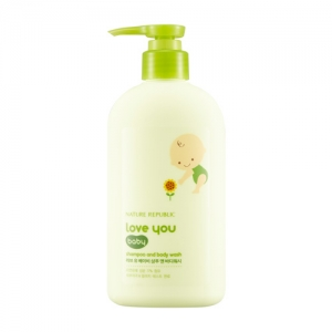 Nature Republic I love You Baby Shampoo And Body Wash 310ml