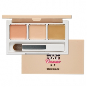 Etude House Big Cover Concealer Kit  - 3Color Pink Bisque, Vanilla, Sand