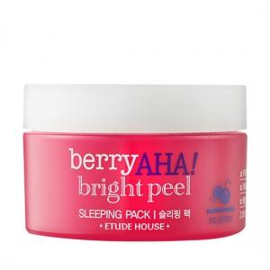 Etude House Berry AHA Bright Peel Sleeping Pack 100ml