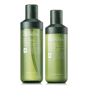 TONYMOLY The Chok Chok Green Tea Watery SET (Skin 180ml/Lotion 160ml)