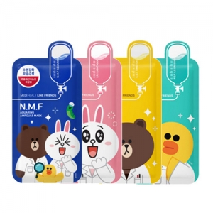 Mediheal Line Friends Ampoule Mask 10ea 27ml