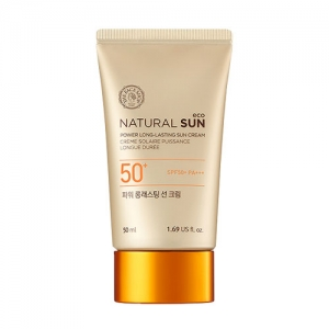 The Face shop Natural Sun Eco Power Long Lasting Sun Cream - 50ml (SPF50+ PA+++)
