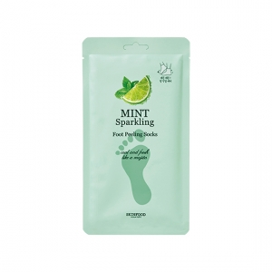 Skinfood Mint Sparkling Foot Peeling Socks 20g*2masks