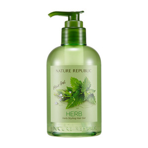 Nature Republic Hub Styling Hair Gel (Pump) 300ml