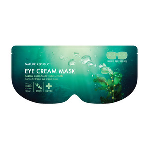 Nature Republic Aqua Collagen Solution Eye Cream Mask 8g