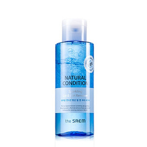 the SAEM Natural Condition Sparkling Lip & Eye Remover 155ml