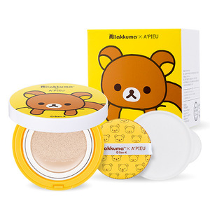 A'PIEU Rilakkuma Edition Air-Fit Cushion Xp SPF 50+/PA+++14g*2ea