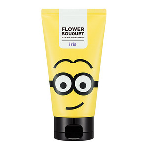 [MD] Missha MINIONS Flower Bouquet Cleansing Foam Iris 120ml