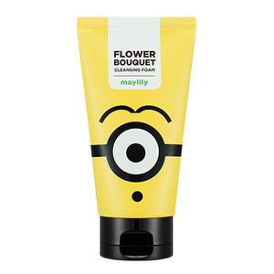 [MD] Missha MINIONS Flower Bouquet Cleansing Foam Maylily 120ml