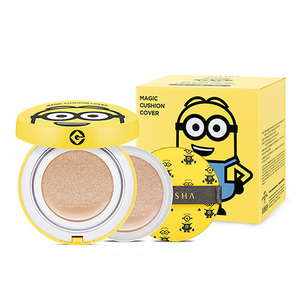 Missha MINIONS M Magic Cushion Cover Special Package 15g*2