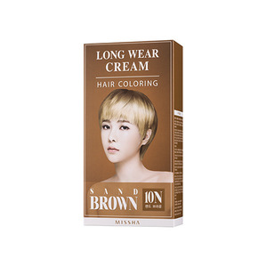 Missha Long Wear Cream Hair Coloring Sand Brown