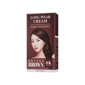 Missha Long Wear Cream Hair Coloring Orange Brown