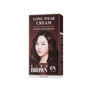 Missha Long Wear Cream Hair Coloring Dark Brown