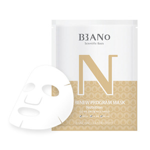 BANO Skin Renew Program Mask Nutrition 10ea