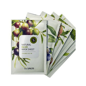 the SAEM Natural Mask Sheet 21ml x 17 Sheet