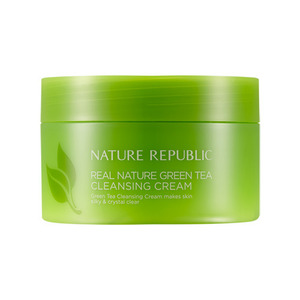 Nature Republic Real Nature Green Tea Cleansing Cream 200ml