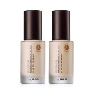 the SAEM Eco Soul Spau Serum Foundation 30ml