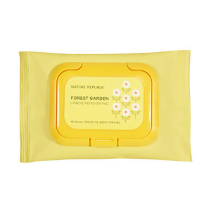 Nature Republic Forest Garden Lip & Eye Remover Pad 40 sheets