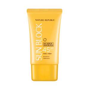 Nature Republic Provence Calendula No Sebum Sun Block SPF45 PA+++