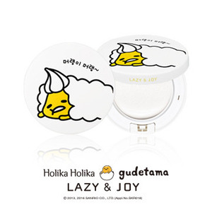 Holika Holika gudetama LAZY&JOY Face 2 Change Photo Ready Tone-Up Cushion 15g