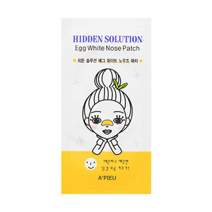 A'PIEU Hidden Solution Egg White Nose Patch 10ea