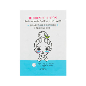A'PIEU Hidden Solution Anti Wrinkle Gel Eye&Lip Patch