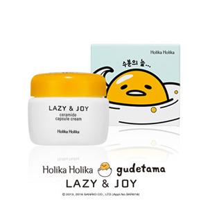 Holika Holika gudetama LAZY&JOY Ceramide Capsule Cream 50ml