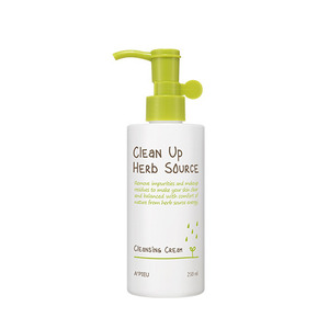 A'PIEU Clean Up Herb Source Cleansing Cream 250ml