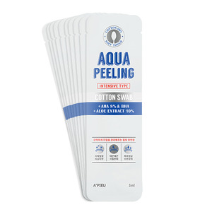 A'PIEU Aqua Peeling Cotton Swab Set Intensive 3ml *10ea