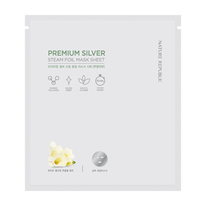 Nature Republic Premium Silver Steam Foil Mask Sheet 30g