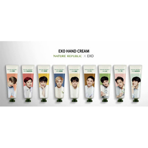 Nature Republic EXO Edition Hand & Nature Hand Cream Set
