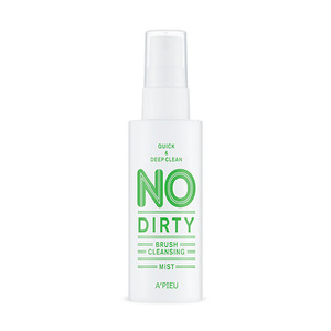 A'PIEU No Dirty Brush Cleansing Mist 80ml