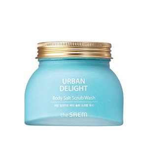 the SAEM URBAN DELIGHT Body Salt Scrub Wash 320g