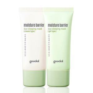 goodal Moisture Barrier Duo Sleeping Mask 30ml*2ea