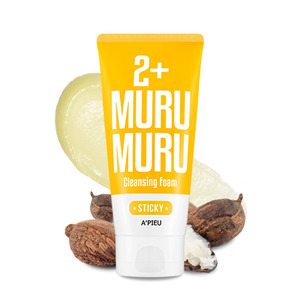 A'PIEU Sticky Murumuru 2+ Cleansing Foam 130ml