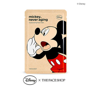 The FACE Shop Mickey Never Aging Moisturizing Face Mask