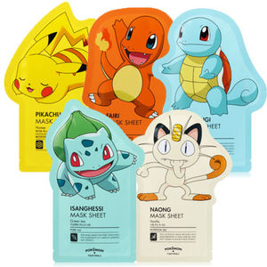 TONYMOLY Pokemon Mask Sheet All-In-One (5 Sheets)
