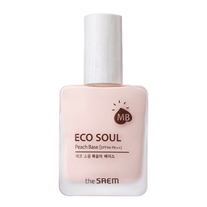 the SAEM Eco Soul Peach Base 25ml