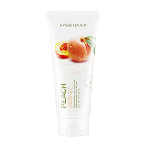 Nature Republic Fresh Herb Peach Cleansing Foam 170ml