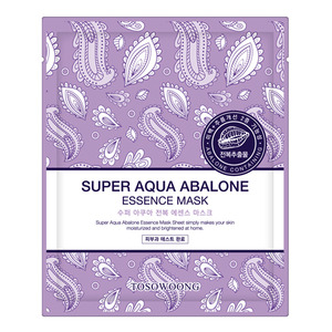 TOSOWOONG Super Aqua Abalone Essence Mask 10sheets