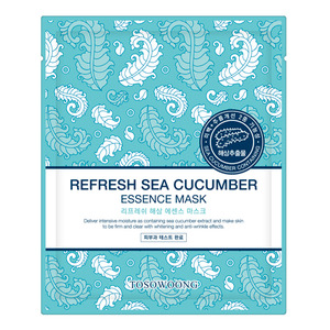 TOSOWOONG Refresh Sea Cucumber Essence Mask 10sheets