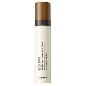 the SAEM ECO SOUL Real Fit Foundation 40ml