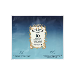 SkinFood Miracle Food 10 Solution Eye Patch & Mask Sheet