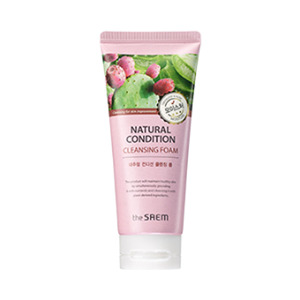 the SAEM Natural Condition Cleansing Foam Moisture 150ml