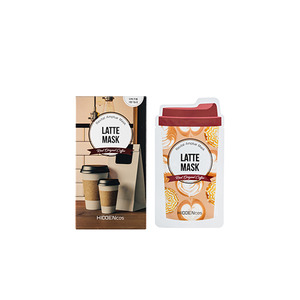 HIDDENCOS LATTE MASK 10Sheet