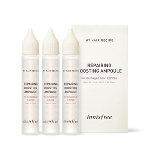 Innisfree My Hair Recipe Repairing Boosting Ampoule 25ml*3ea
