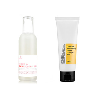 Neulii Teatree BHA Blemish Control Serum 100ml + Cosrx Ultimate Moisturizing Honey Overnight Mask 60ml