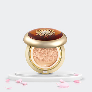 The History of Whoo Radiant Essence Cushion 15g + Refill 15g