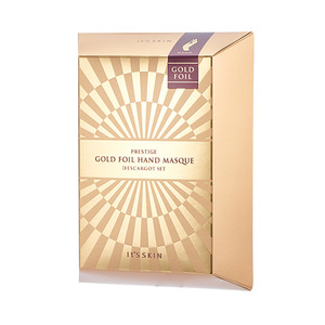 It's skin PRESTIGE Gold Foil Hand Masque D'escargot